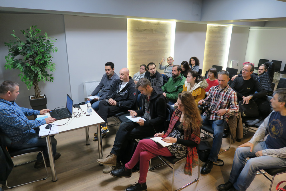 Курсове по фотография за напреднали в София