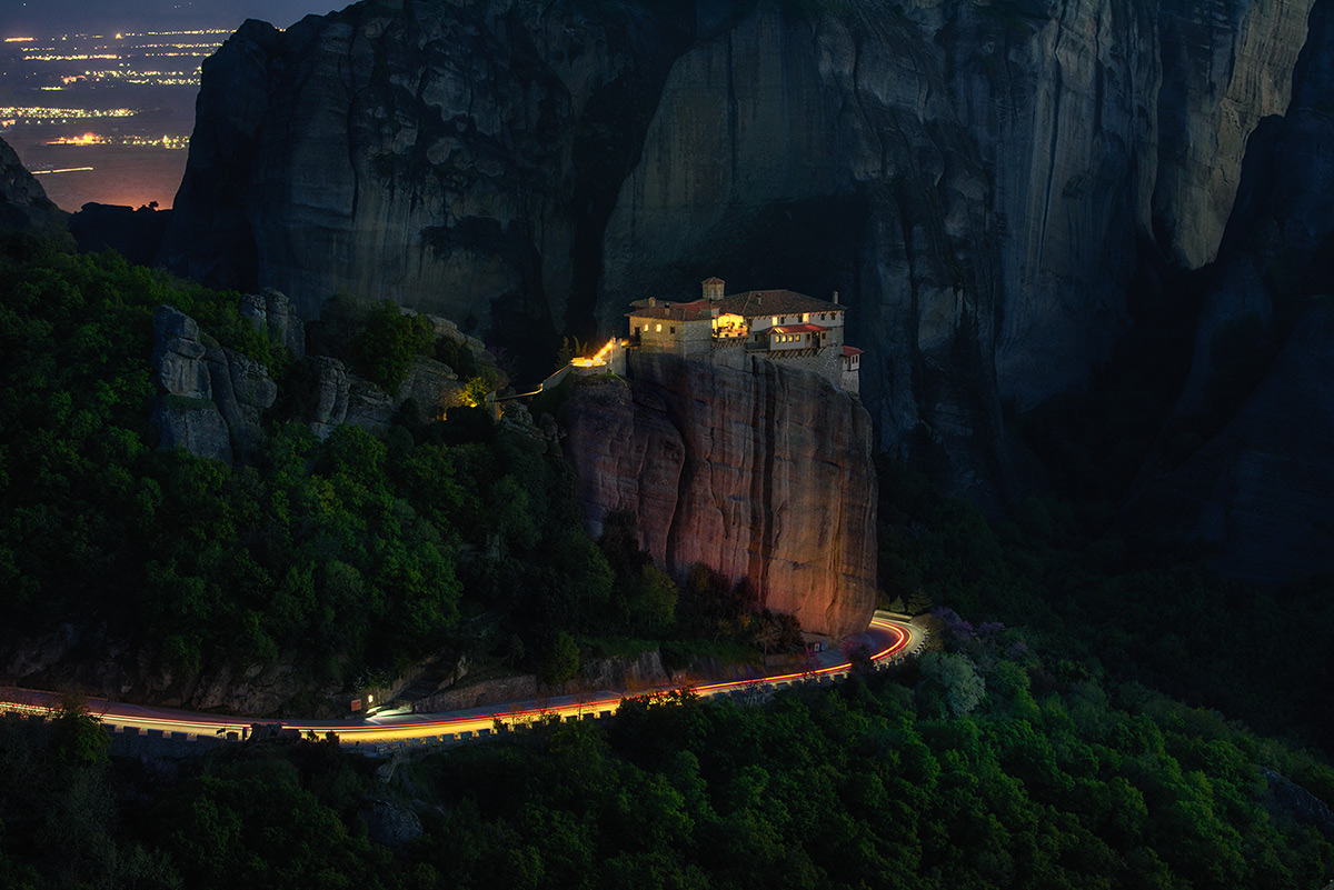 Night in Meteora